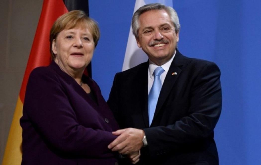 Alberto Fernández - Merkel