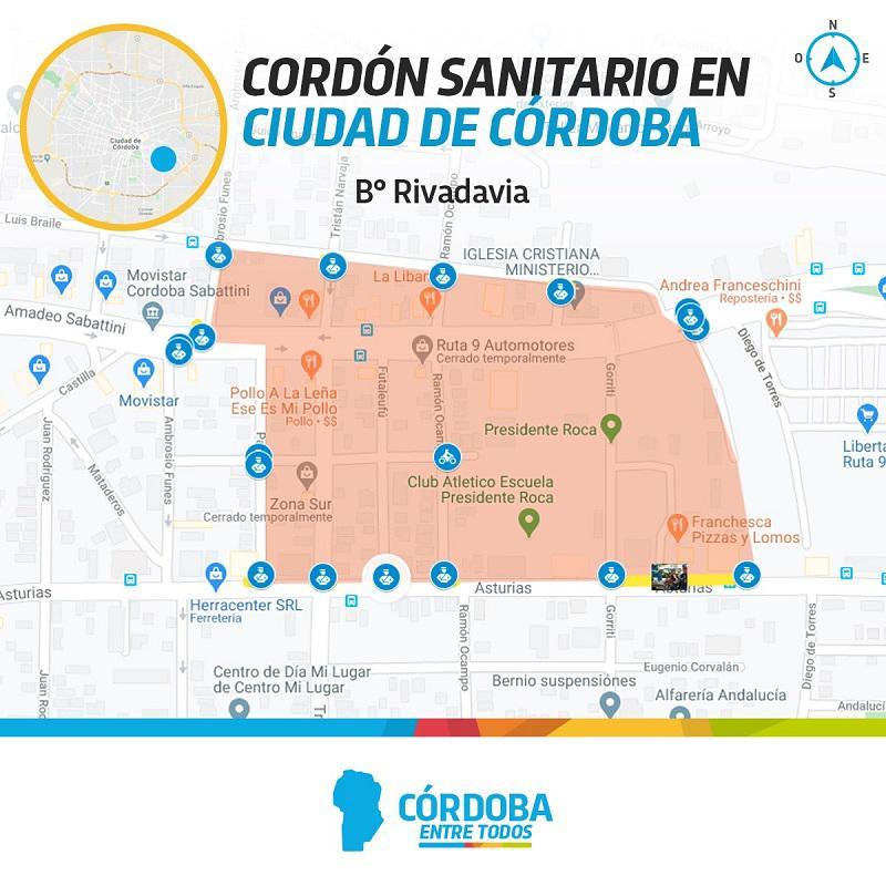 Cordon Sanitario B Rivadavia