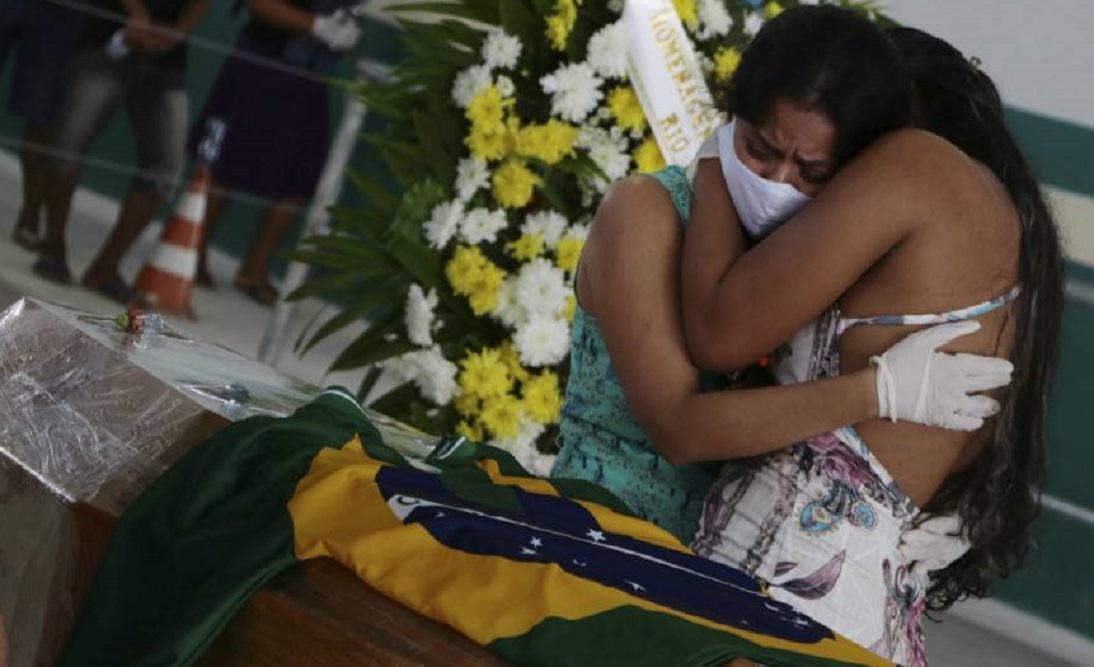 Brasil coronavirus muertes