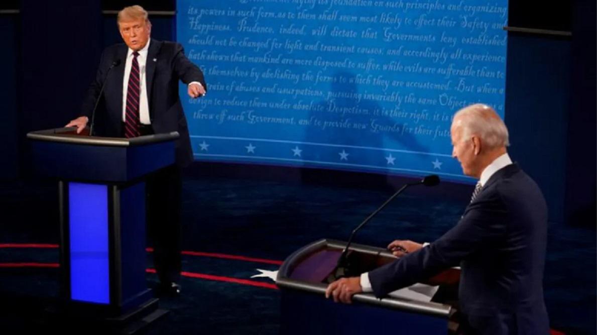 Trump Biden Debate Presindecial