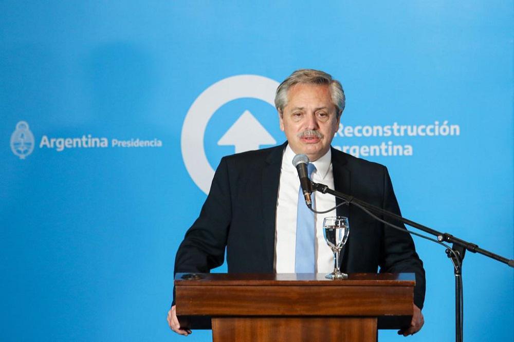 Alberto Fernandez presidente